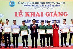 Trường Trung cấp nghề Hà Tĩnh đón hơn 3.000 học viên vào năm học mới