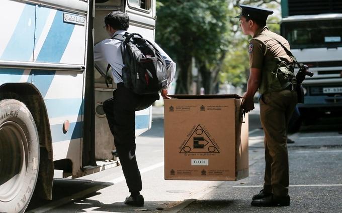 Sri Lanka bắt đầu bầu tổng thống