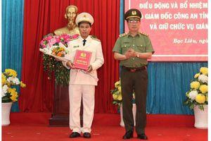 Biết gì về 3 tân Giám đốc CA tỉnh Bạc Liêu, Sơn La, Thái Bình
