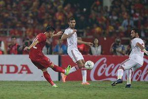So thành tích của đội tuyển Việt Nam với các đội đầu bảng ở vòng loại World Cup 2022