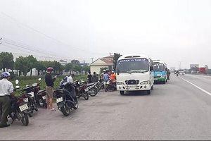 Hải Dương: Phát hiện tài xế xe buýt tử vong trên cabin