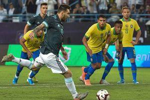 Messi 'nổ súng', Argentina 'đòi nợ' thành công Brazil