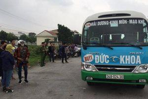 Hải Dương: Tài xế xe buýt đột tử ngay trên nghế lái