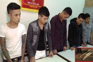 Thanh niên từ Huế kéo theo đồng bọn mang súng và kiếm vào Đà Nẵng để trả thù cho bạn gái