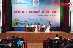 Tạo đà khởi nghiệp cho thanh niên, sinh viên Hà Tĩnh