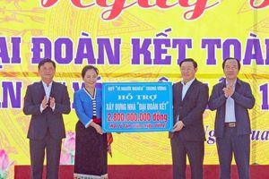 Phó Thủ tướng Vương Đình Huệ trao tặng 2,8 tỷ đồng hỗ trợ xây dựng 70 nhà ở cho hộ nghèo toàn tỉnh Nghệ An