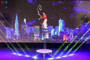 Mãn nhãn xem trình diễn Liên hoan Xiếc quốc tế tại Hạ Long