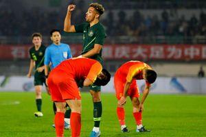 Bóng đá Trung Quốc lại thua tan nát trên sân nhà