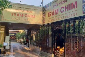 Ủy ban Kiểm tra Thành ủy TP.HCM kiểm tra Gia Trang quán - Tràm Chim Resort