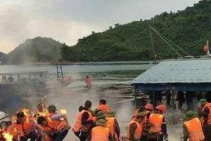 Quảng Ninh: Tạm giữ 6 đối tượng dùng bom xăng ném vào đoàn cưỡng chế