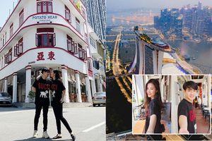 Đăng ảnh 'đưa nhau đi trốn' hậu siêu đám cưới, Đông Nhi – Ông Cao Thắng bất ngờ để lộ chi tiết đang hưởng tuần trăng mật ở Singapore