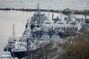 Nga trao trả 3 tàu quân sự bị bắt giữ cho Ukraine