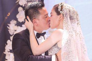 Nước mắt và nụ cười trong hôn lễ của 3 cô dâu showbiz Việt