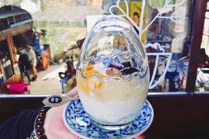 Yaourt trứng - món ăn thu hút giới trẻ ở Đà Lạt