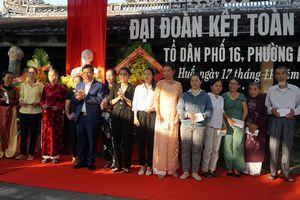 Dự Ngày hội Đại đoàn kết toàn dân tộc tại TP Huế, Bộ trưởng Nguyễn Ngọc Thiện: Cần sự đồng lòng, chung tay của cộng đồng trong việc bảo vệ, giữ gìn di tích