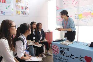 'Mở cửa' đưa sinh viên gặp trực tiếp nhà tuyển dụng Nhật Bản