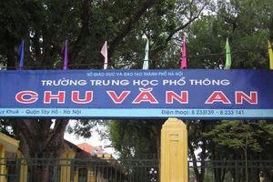 Làm rõ dấu hiệu sai phạm trong chi tiêu tài chính của Hiệu trưởng trường THPT Chu Văn An