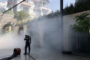 Biệt thự của đại gia thép ở Đà Nẵng bất ngờ bốc cháy