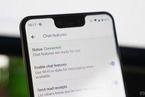 Công nghệ tuần qua: Sau iMessage của Apple, người dùng Android cũng có ứng dụng tương tự
