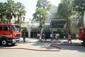 Cháy dữ dội tại biệt thự 500m2 của đại gia thép ở Đà Nẵng