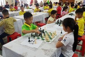 Khai mạc giải cờ vua Thượng Kỳ Ninh Bình mở rộng lần thứ nhất