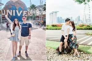 Nếu có đi trăng mật ở Singapore thì đây chính là những địa điểm cực lãng mạn Đông Nhi và Ông Cao Thắng nên ghé thăm