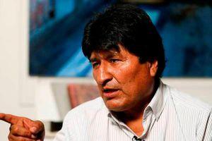 Ông Morales: Khủng hoảng Bolivia có thể bùng phát thành nội chiến