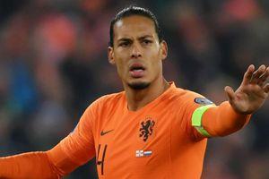 Van Dijk rời đội tuyển Hà Lan sau khi giành vé dự Euro 2020