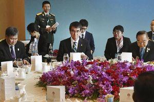 Dè chừng TQ, Nhật tăng cường hợp tác quốc phòng với ASEAN