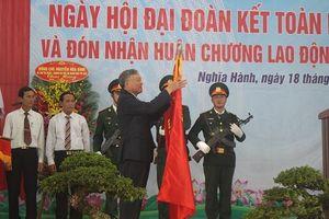 Quảng Ngãi: Huyện Nghĩa Hành đón nhận Huân chương Lao động hạng Ba