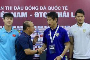 HỌP BÁO: HLV Park Hang-seo: Phóng viên Thái hỏi Quang Hải 'đủ sức sang Nhật không?', thầy Park khoe sang La Liga