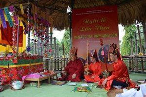 Tái hiện 'Nghi lễ Lẩu Then' của người Tày tỉnh Lạng Sơn