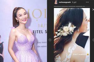 MC Hoàng Oanh đăng ảnh cưới bên chồng ngoại quốc, nói lời đặc biệt