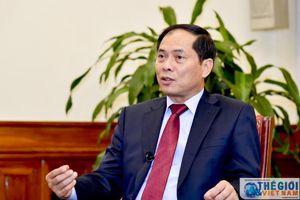 Thứ trưởng Thường trực Bộ Ngoại giao Bùi Thanh Sơn dự Hội nghị Ngoại trưởng G20 tại Nhật Bản