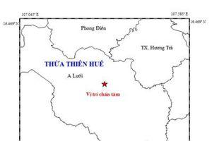 Động đất gần thủy điện ở Thừa Thiên - Huế, nhiều nơi cảm nhận rung lắc mạnh