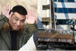 Vừa xuất ngũ, Daesung Big Bang đã chứng kiến tòa nhà nghi có mại dâm bị phá