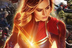'Avengers: Age of Ultron' vốn được chuẩn bị để Captain Marvel debut