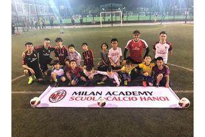 Ưu đãi, học thử miễn phí cho trẻ em tại học viện bóng đá AC Milan Hà Nội