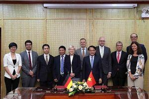 Việt – Đức đặt cơ sở cho định hướng tăng trưởng xanh