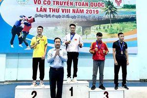 Giải Cúp vô địch võ cổ truyền toàn quốc năm 2019: Đồng Nai giành 4 HCV, xếp hạng 5