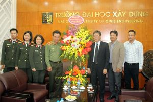 Lãnh đạo CATP Hà Nội chúc mừng ngày Nhà giáo Việt Nam
