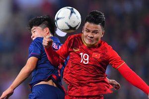 Hòa đáng tiếc trước Thái Lan, Việt Nam vẫn bảo toàn ngôi đầu bảng