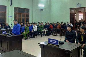 56 năm tù cho bảy bị cáo nguyên là sĩ quan công an, cán bộ kiểm sát