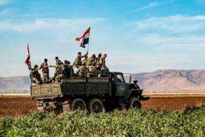 Quân đội Syria giành quyền kiểm soát một loạt khu vực quan trọng