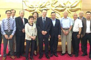 Đoàn Hội đồng Nhật Bản chống bom nguyên tử và khinh khí thăm và làm việc tại Việt Nam