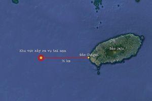 Cháy tàu cá tại Hàn Quốc, 6 thuyền viên Việt Nam mất tích