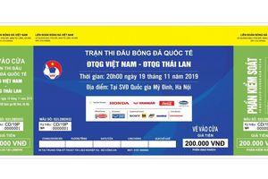 Trận Việt Nam- Thái Lan: Bắt đối tượng tung hơn 1.000 vé giả