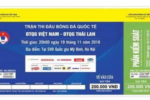 Phát hiện lượng lớn vé giả trận Việt Nam - Thái Lan
