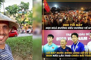 Fan mong quán Hà Nội không 'chặt chém' trọng tài Oman, Tristan Đỗ hoàn thành việc làm nội gián