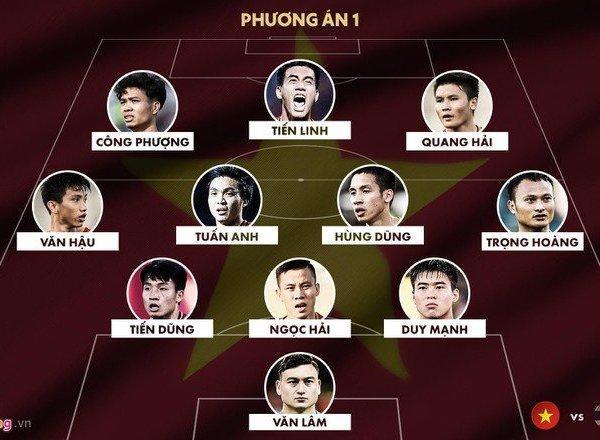 Vòng loại World Cup 2020: Dự đoán đội hình ra sân mạnh nhất ĐT Việt Nam thi đấu Thái Lan